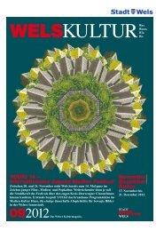 Kulturmagazin WelsKultur - Stadt Wels