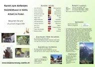 Stein&Kunst Art&Stone Symposium 2009 in Vättis - Verein ...