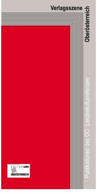 Verlagsszene Publikationen des OÖ ... - Adalbert Stifter