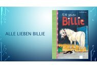 Alle lieben Billie