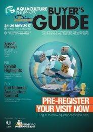 Aquaculture Philippines 2017 Buyer's Guide