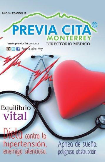 Directorio Médico Previa Cita Monterrey Edición  19 web