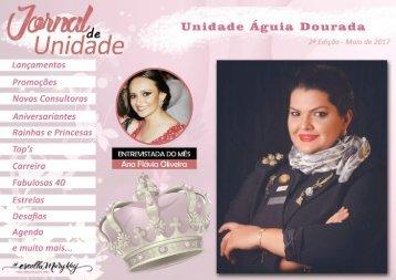 JORNAL DE UNIDADE - AGUIA DOURADA 052017