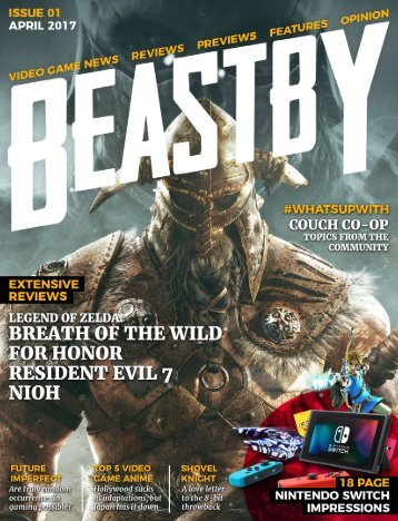 Beastby - Issue 01 April 2017
