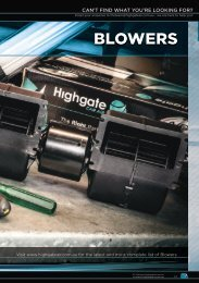 Highgate Product Catalogue Edition 12 - Blowers