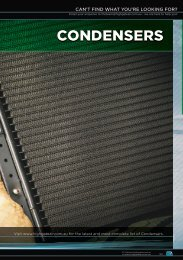 Highgate Product Catalogue Edition 12 - Condensers