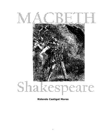 Shakespeare-macbeth