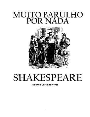Shakespeare-Muito-barulho-por-nada