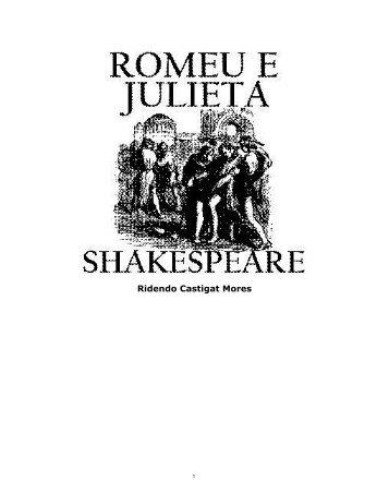 Shakespeare-romeuejulieta