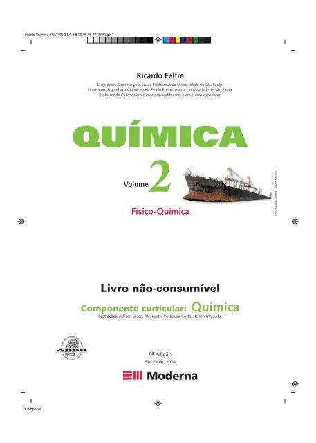 Quimica Feltre Volume 1 Pdf