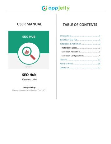 Magento SEO Hub Extension