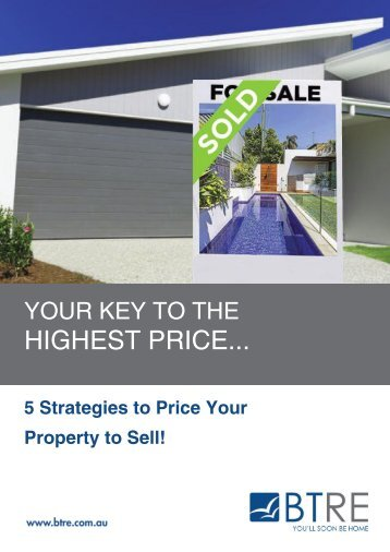 5 Strategies to Price Your Property to Sell!