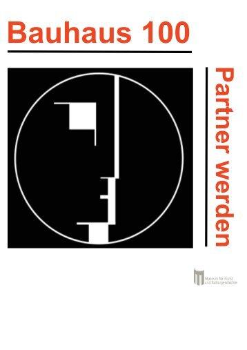 5 Bauhaus 100 Sponsorenbroschüre