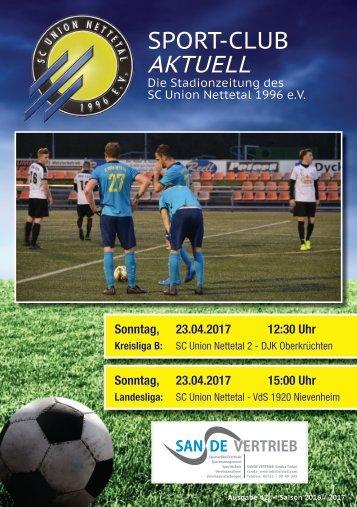 Sport Club Aktuell - Ausgabe 42 - 23.04.2017