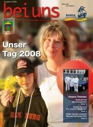 Unser Tag 2008 - HANSA Baugenossenschaft eG