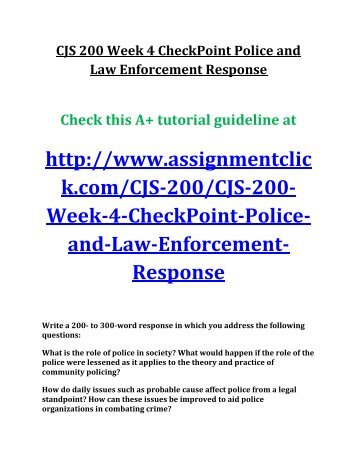 law enforcement today wk4 Law enforcement today is an international web community developed by law enforcement officers for the law enforcement community, family members, friends and those who support law enforcement.