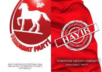 DP HAYIR BROSUR