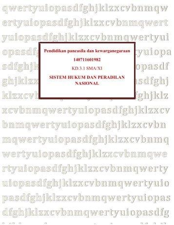 Pendidikan pancasila dan kewarganegaraan PDF