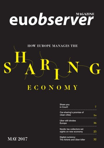 How Europe manages the sharing economy