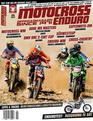 Motocross Enduro Ausgabe 06/2017