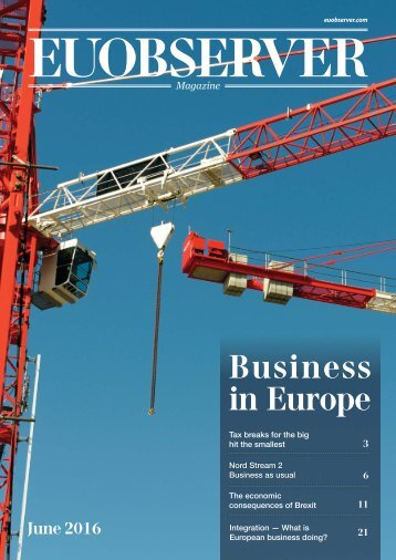 Business in Europe