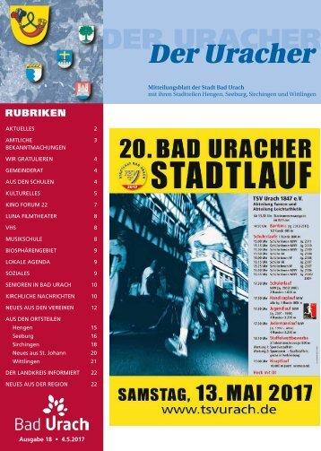 Der Uracher KW 18-2017