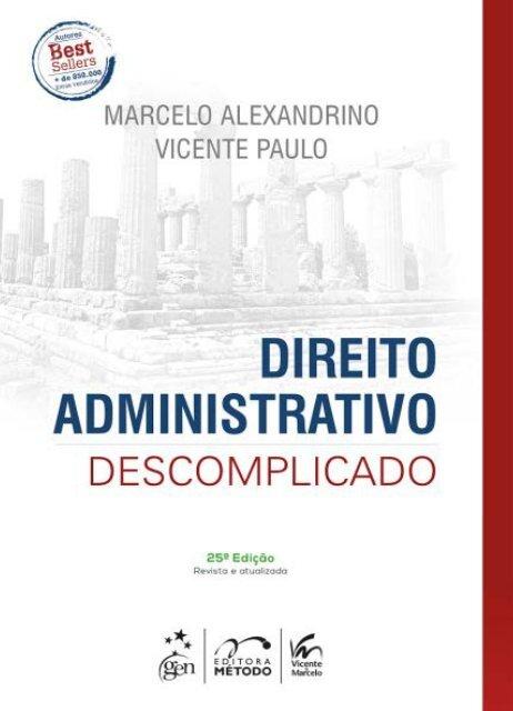 Pdf direito administrativo gratis descomplicado