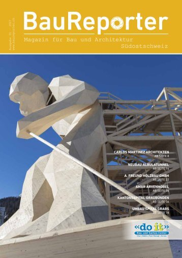 Baureporter Magazin Ausgabe 1