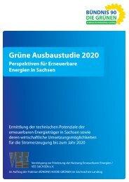 Grüne Ausbaustudie 2020 – Perspektiven für Erneuerbare Energien ...