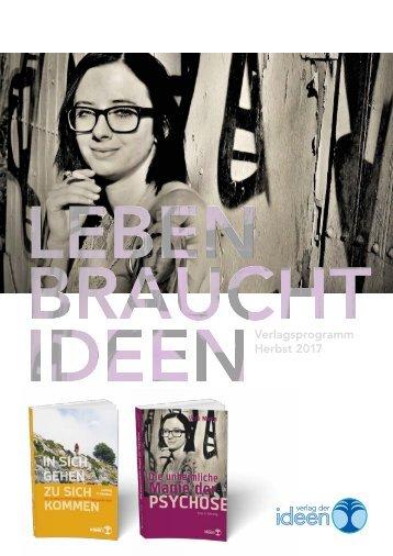 Verlag der Ideen Verlagsprogramm Herbst 2017