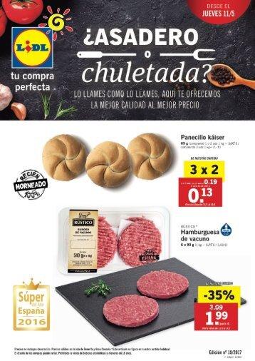 Folleto Lidl desde 11 de Mayo 2017 Canarias