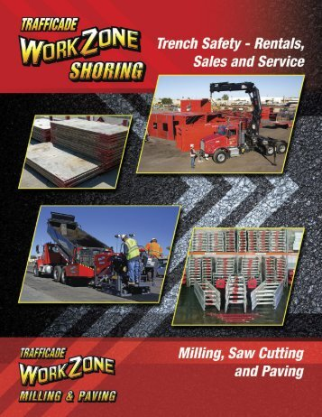 Trafficade Shoring Catalog