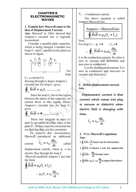 XII_Physics_Chapter_8-_Electromagnetic_Waves_saju_hsslive0