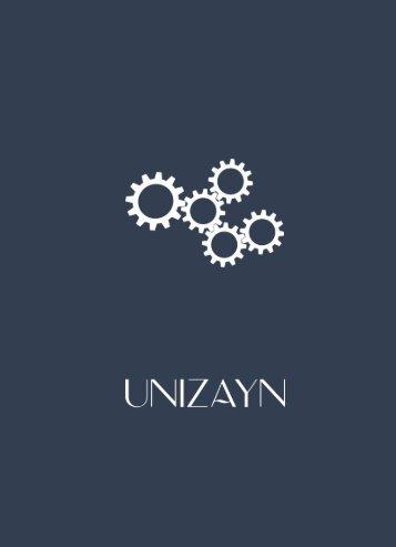 Unizayn Katalog