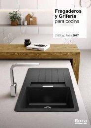 ROCA Catálogo Tarifa Fregaderos y Grifería para cocina 2017