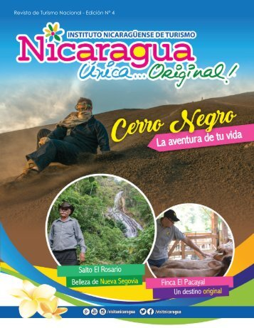 Revista Nicaragua, Única... Original! Edición N° 4
