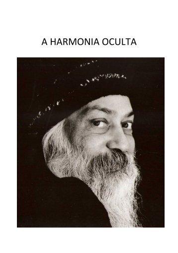 Osho - A Harmonia Oculta