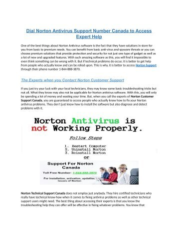Dial Norton Antivirus Support Number Australia to Access Expert Help