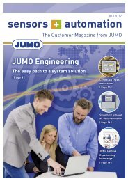 JUMO Customer Magazine 1/2017
