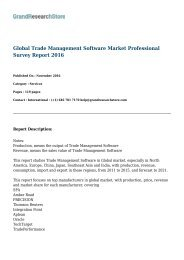 Global Trade Management Software Market Size, Status and Forecast 2022