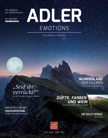 ADLER Magazin 2017