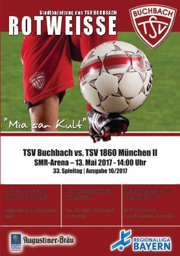 Stadionzeitung TSV Buchbach - TSV 1860 München II