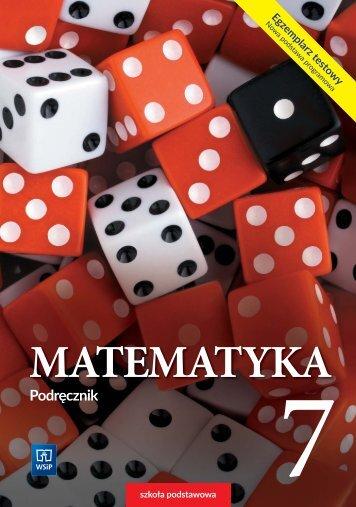 Matematyka 7