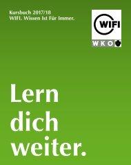 WIFI Tirol Kursbuch 2017/18
