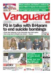 27062019 - 20 killed as B-Haram gunmen raid Borno village