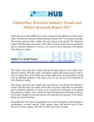 Global Flaw Detectors Industry Trends and Market Research Report 2017