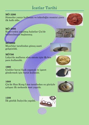 icatlar tarihi