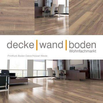 dwb Produktinformation PrintKorkBoden Weide P408