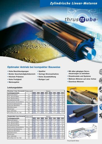 Zylindrische Linear-Motoren - Rodriguez