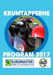 Krumtapperne Program 2017